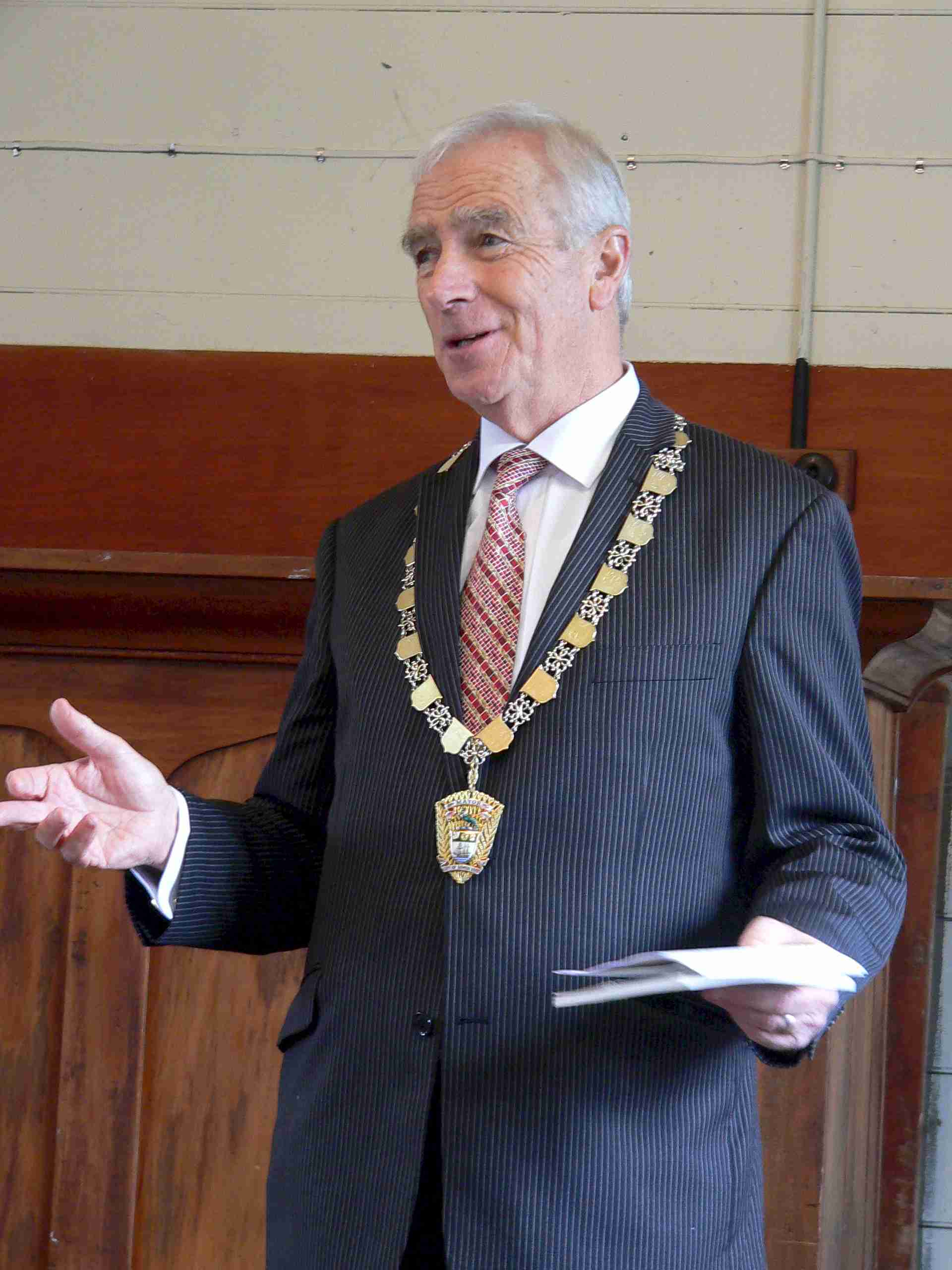 Address from the Mayor